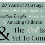 20th Anniversary Quotes For Parents