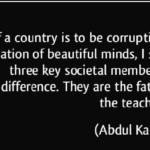 A. P. J. Abdul Kalam Quotes About Family