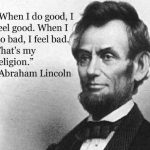 Abraham Lincoln Quotes about Leadership Tumblr