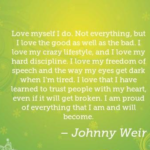 Amazing Quotes by Johnny Weir about Trust