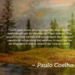 Amazing Quotes by Paulo Coelho about Respect