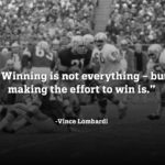 American Football Quotes Vince Lombardi