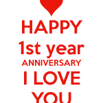 Anniversary Quotes For Boyfriend Of First Year