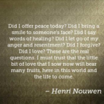 Awesome Quotes by Henri Nouwen about Smile