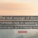 Awesome Quotes by Marcel Proust about Travel