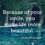 Awesome Quotes by Thich Nhat Hanh about Smile