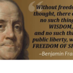 Benjamin Franklin Freedomk & Wisdom Quotes