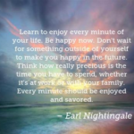 Best Quotes by Earl Nightingale about Time