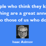 Best Quotes by Isaac Asimov about Great