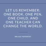 Best Quotes by Malala Yousafzai about Inspirational