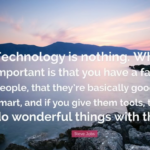 Best Quotes by Steve Jobs about Technology