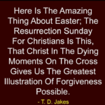 Best Quotes by T. D. Jakes about Easter