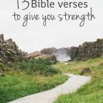 Bible Quotes On Strength