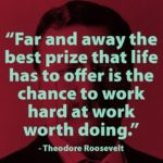 Chance Quotes by Theodore Roosevelt