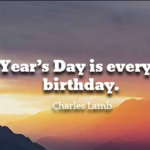 Charles Lamb Quotes About New Year's