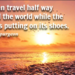 Charles Spurgeon Quotes About Travel