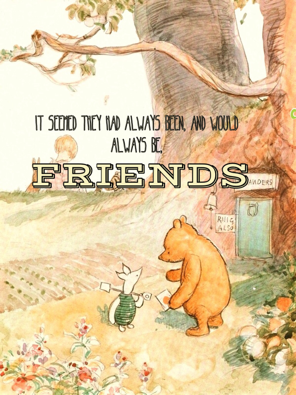 Winnie The Pooh Quote About Friendship Robin  Upload Mega Quotes