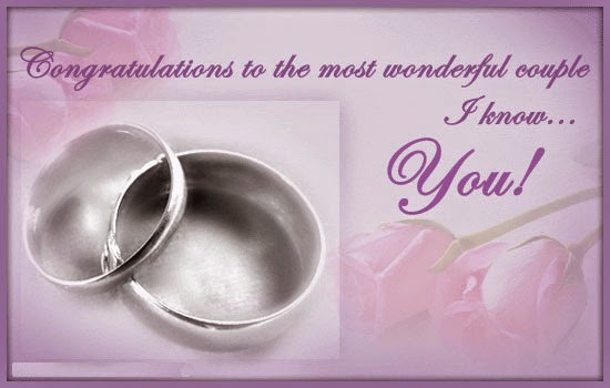Congratulations About Your Wedding Day Quotes