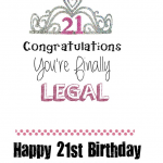Daughter 21th Birthday Quotes