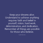 Dreams Quotes by Gail Devers