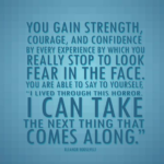Eleanor Roosevelt Quotes About Strength