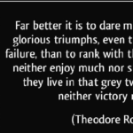 Failure Quotes by Theodore Roosevelt
