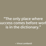 Famous Football Quotes Vince Lombardi for Flickr