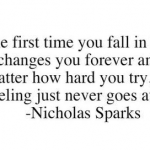 First Love Quotes by Nicholas Sparks