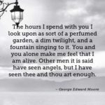 George Edward Moore Quotes About Valentine's Day