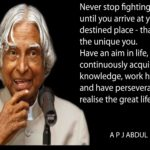 Great Quotes by A. P. J. Abdul Kalam