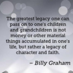 Great Quotes by Billy Graham about Money