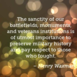 Great Quotes by Henry Waxman about Veterans Day