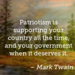 Great Quotes by Mark Twain about Memorial Day
