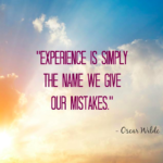 Great Quotes by Oscar Wilde about Experience