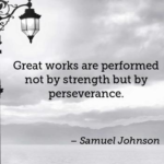 Great Quotes by Samuel Johnson about Patience