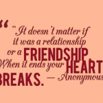 Heart Touching Quotes about Friendship Broken
