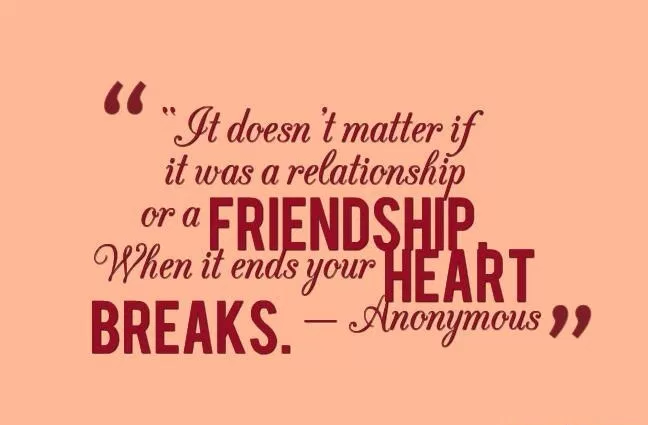 Touching Quotes About Friendship Interesting Heart Touching Quotes About Broken Friendship  Upload Mega Quotes