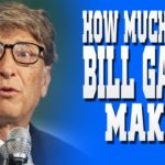 How Much Money Does Bill Gates Have a Second Text