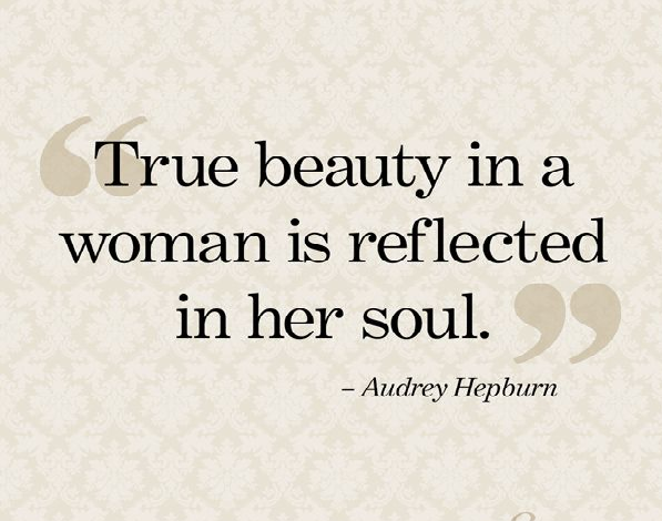 Inner Beauty Quotes Inner Beauty Quotes From Audrey Hepburn  Upload Mega Quotes