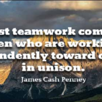 James Cash Penney Quotes About Best