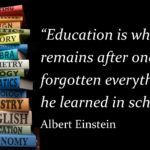 Learning Quotes by Albert Einstein