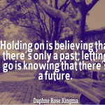 Letting Go Of The Past and Moving On Twitter