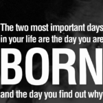 Mark Twain Quotes about The Two Most Important Days Tumblr