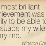 Marriage Quotes by Winston Churchill