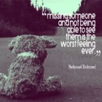 Missing Someone Quotes for Flickr