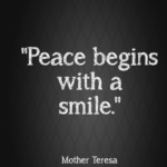 Mother Teresa Quotes About Peace