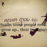 Peter Pan Never Grow Up for Facebook Covers