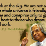 Quotes About Alone by A. P. J. Abdul Kalam