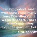 Quotes About Amazing by Tim Tebow