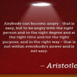 Quotes About Anger by Aristotle